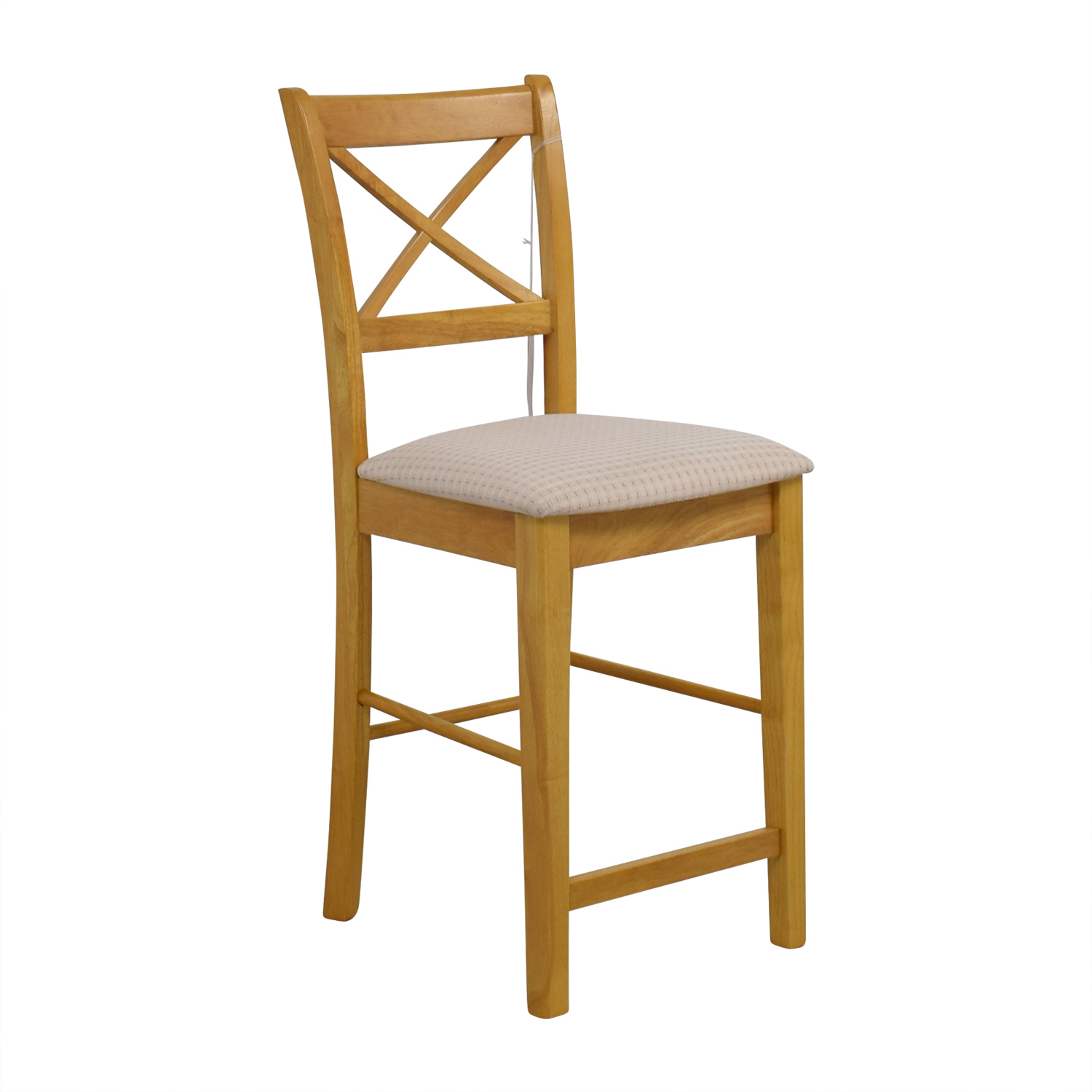 Coaster Maple Counter Height Chair with Padded Seat Coaster