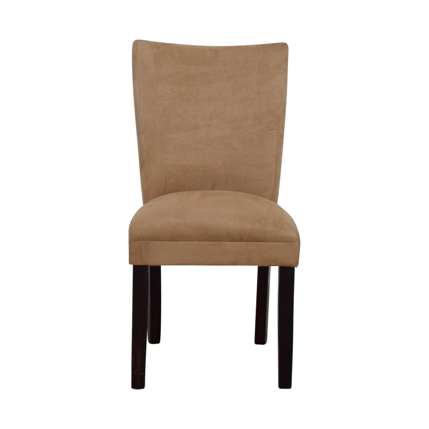 Coaster Furniture Parsons Taupe Microfiber Fabric Chair for sale