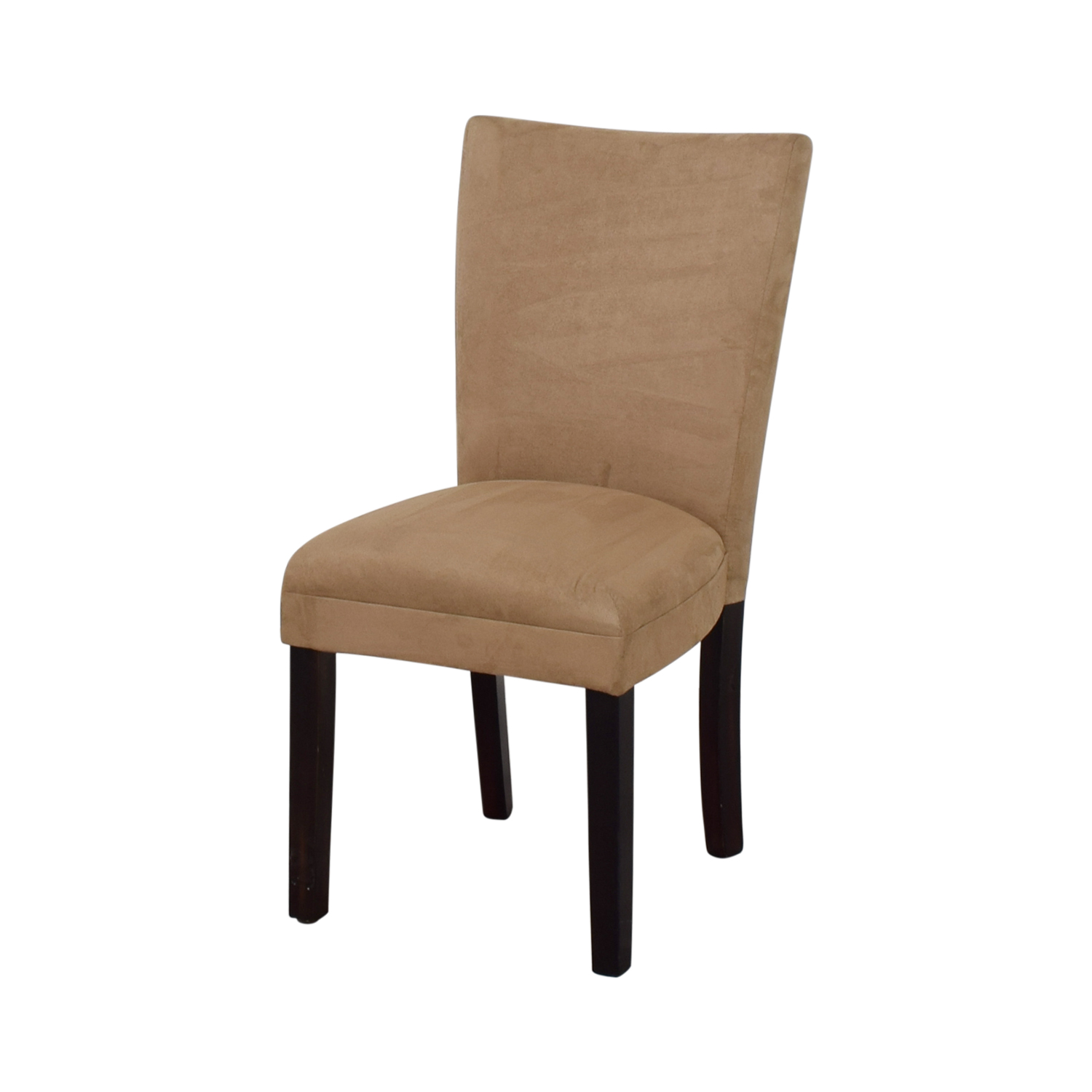 Coaster Furniture Parsons Taupe Microfiber Fabric Chair used