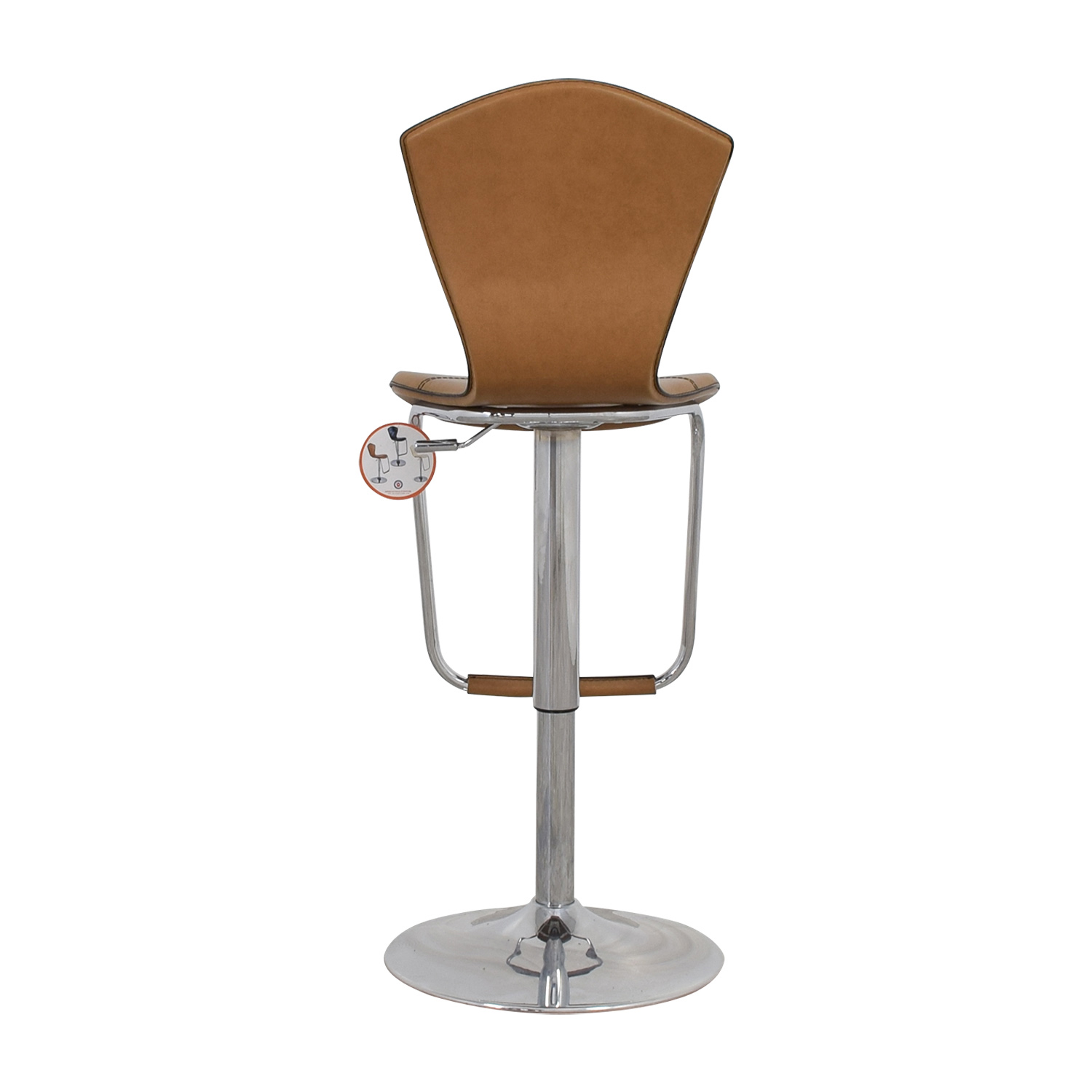 shop Light Brown Swivel Barstool