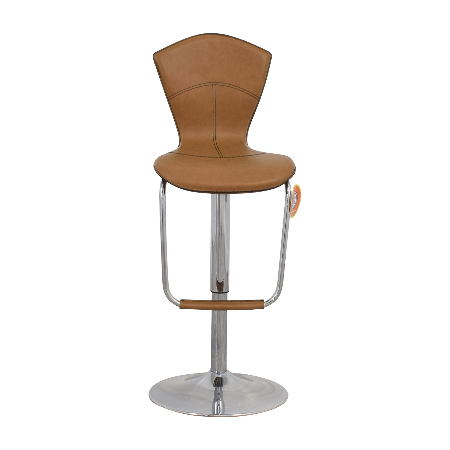 Light Brown Swivel Barstool nyc