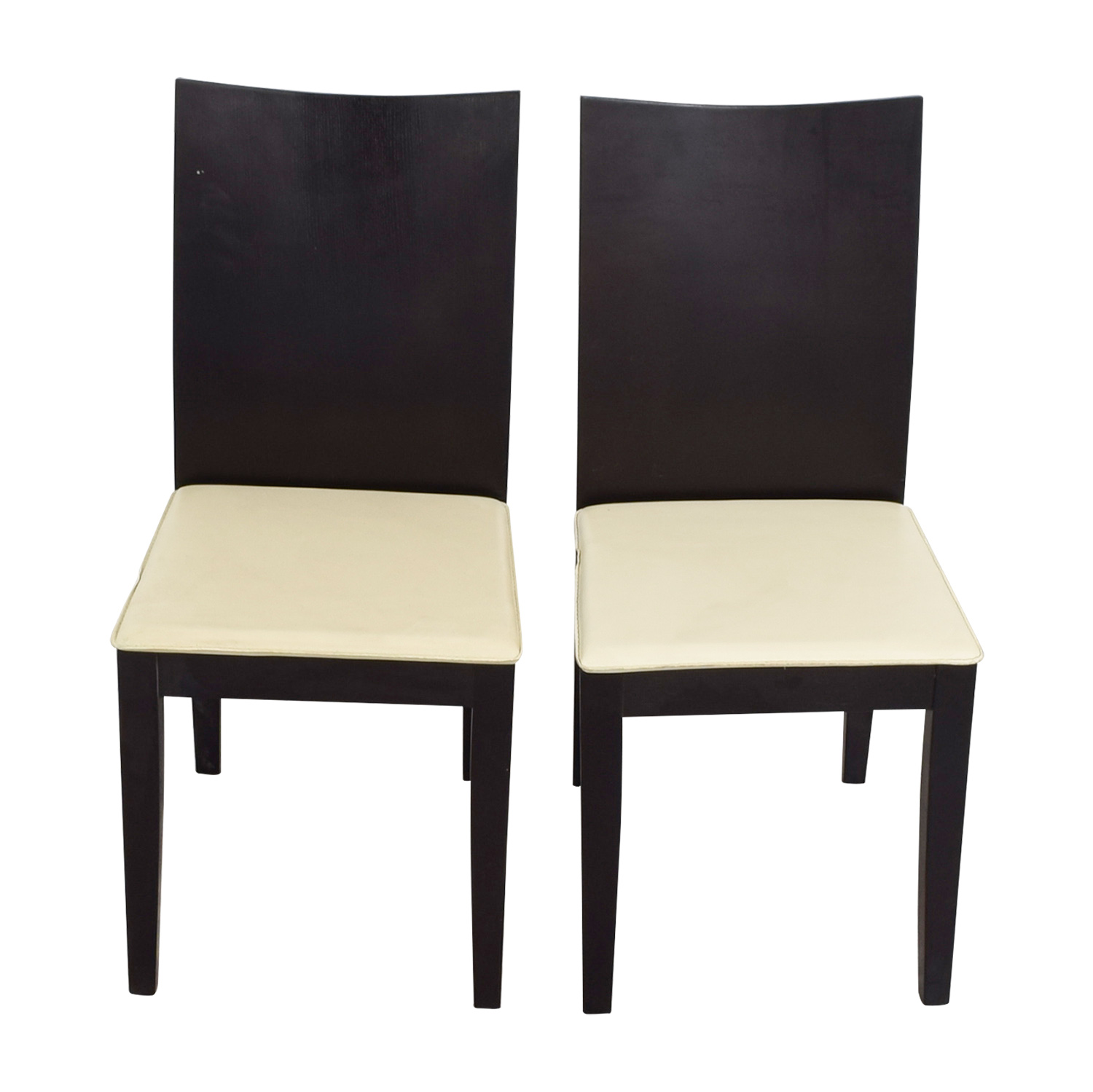Dining Chairs in Wenge Frame for sale