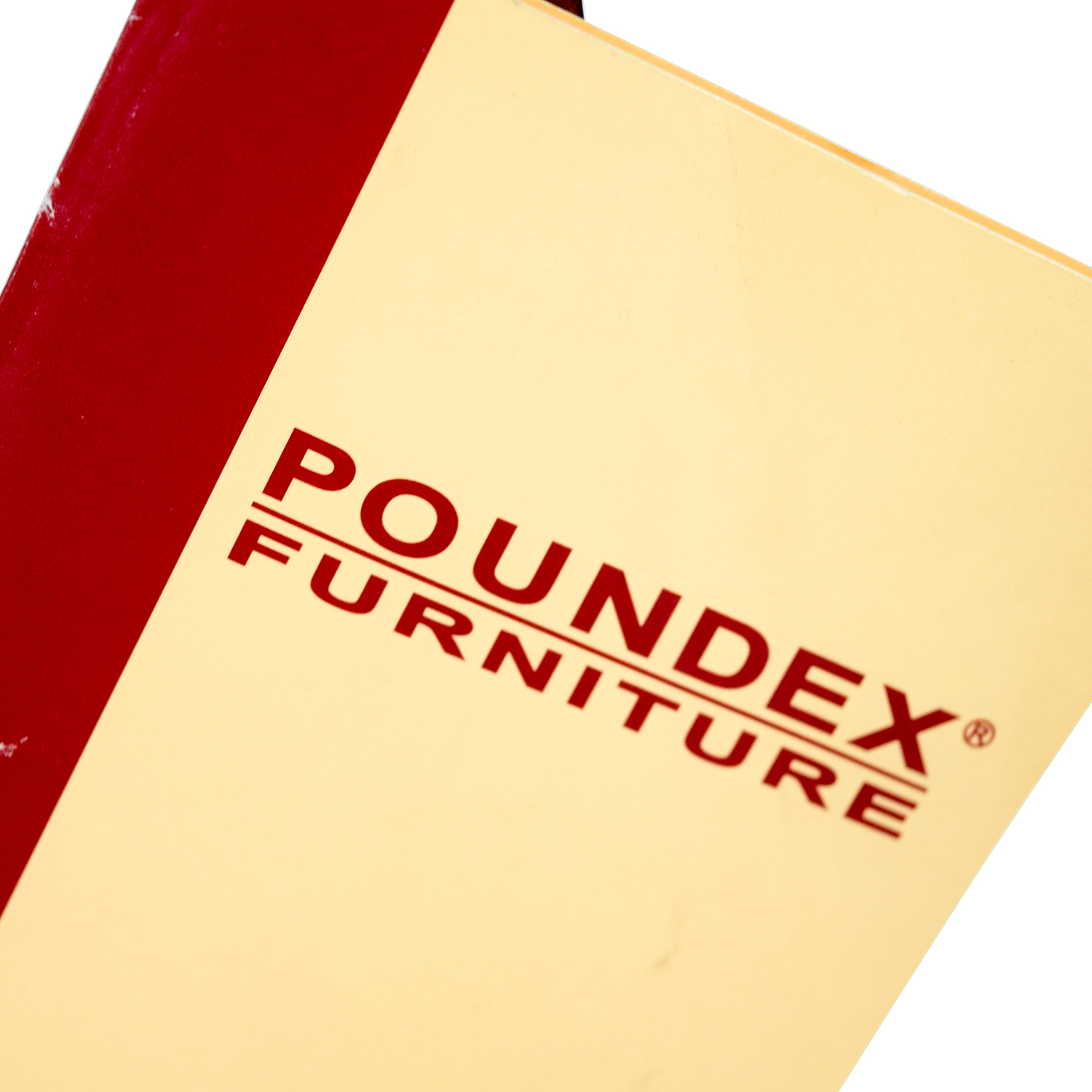 Poundex Furniture Poundex Furniture Traditional Wood and Off White Chair