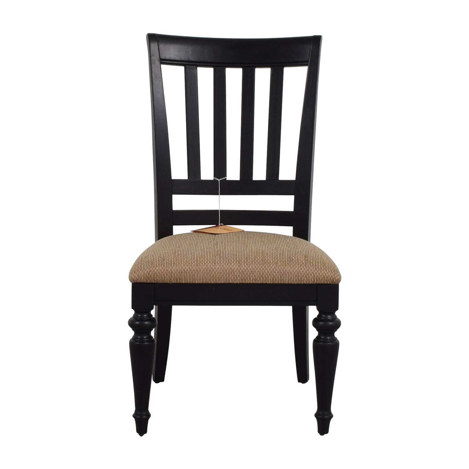 buy Poundex Furniture Poundex Furniture Black Chair with Padded Seat online