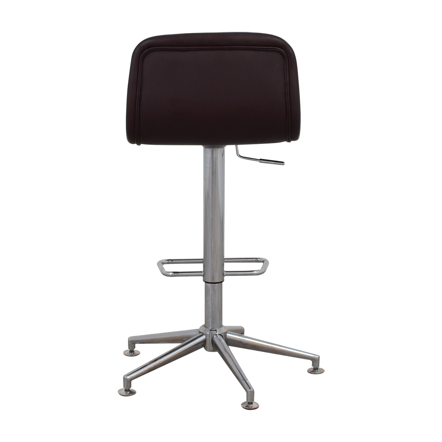 buy Brown Leatherette Swivel Barstool online