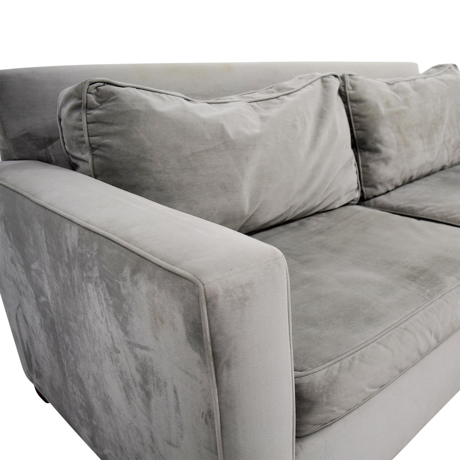 West Elm Henry Grey Couch West Elm