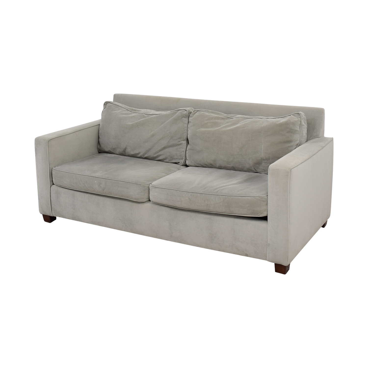 West Elm West Elm Henry Grey Couch discount