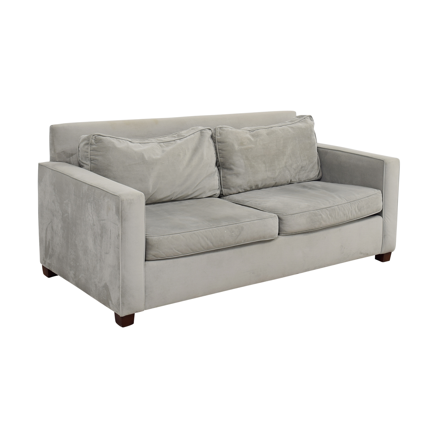 West Elm Henry Grey Couch / Sofas