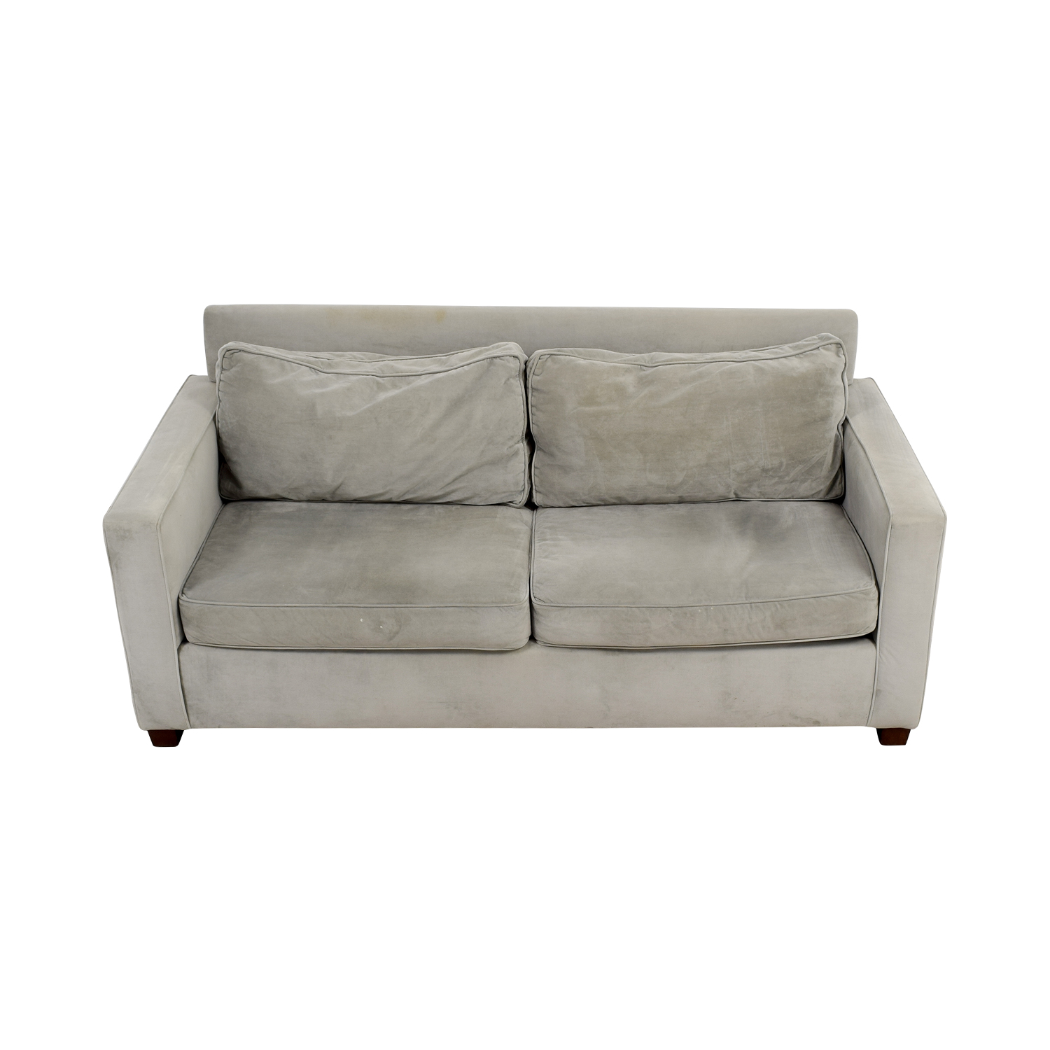 shop West Elm Henry Grey Couch West Elm Classic Sofas