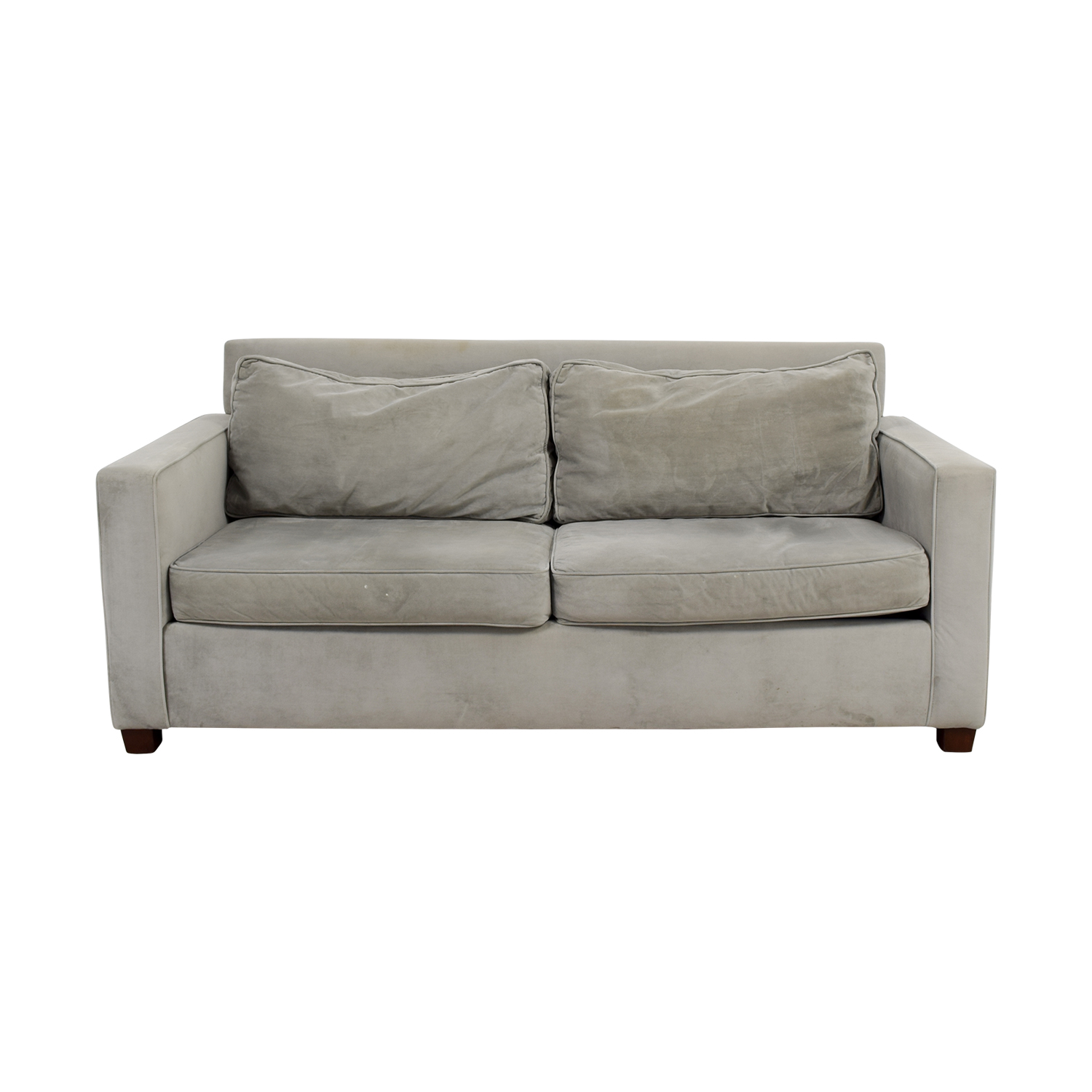 shop West Elm West Elm Henry Grey Couch online