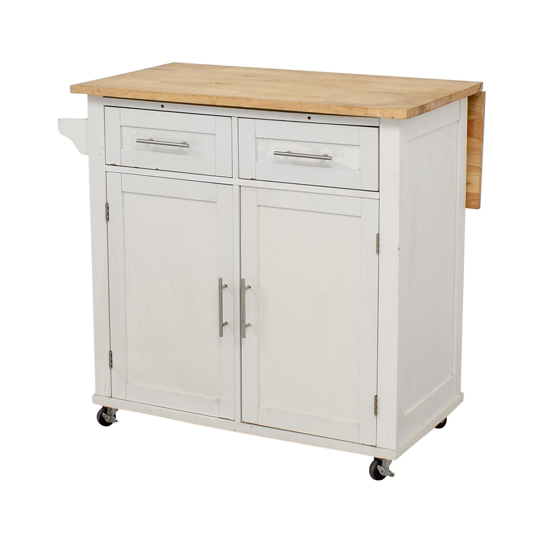 buy Target White Kitchen Island Target Tables