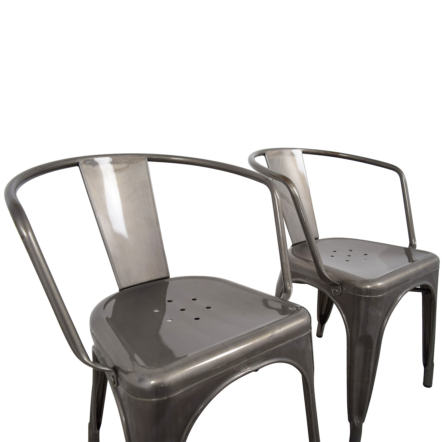 70 Off Target Target Carlisle Metal Dining Chair Chairs