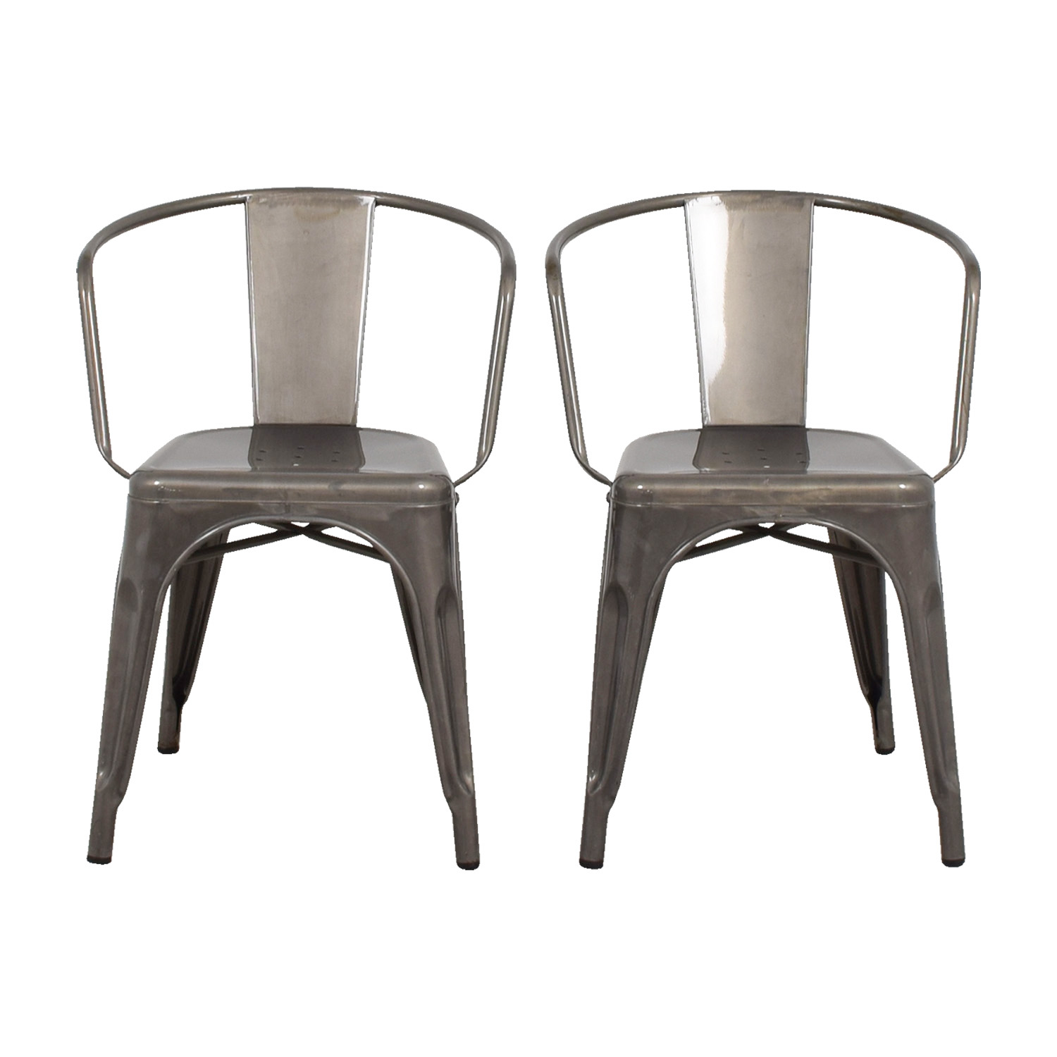 shop Target Carlisle Metal Dining Chair Target Chairs ...  sc 1 st  Furnishare & 70% OFF - Target Target Carlisle Metal Dining Chair / Chairs