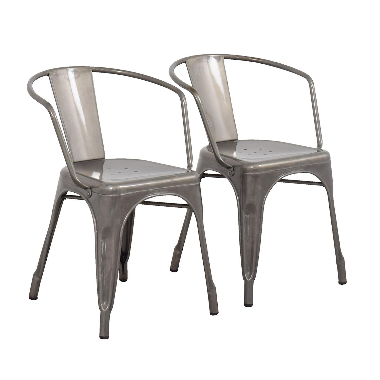 buy Target Carlisle Metal Dining Chair Target Dining Chairs
