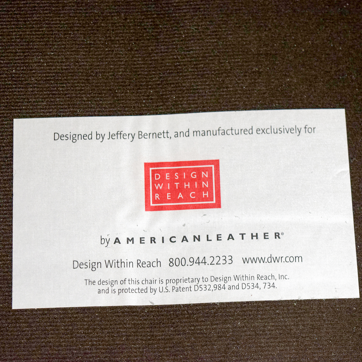 Design Within Reach Design Within Reach Grey Leather Sofa Chair