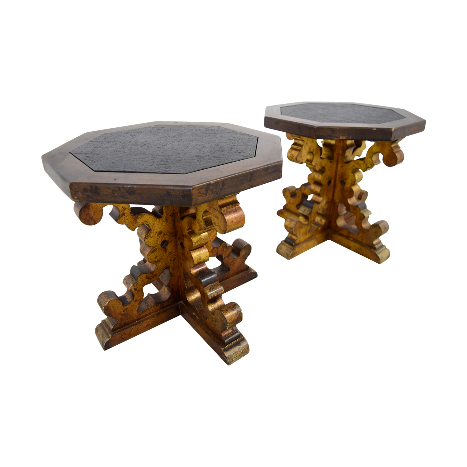 buy Vintage Stone Top Cocktail Tables online