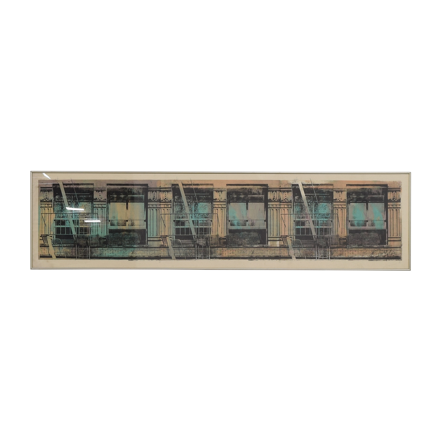 shop Industrial NYC Canvas Wall Art Decor