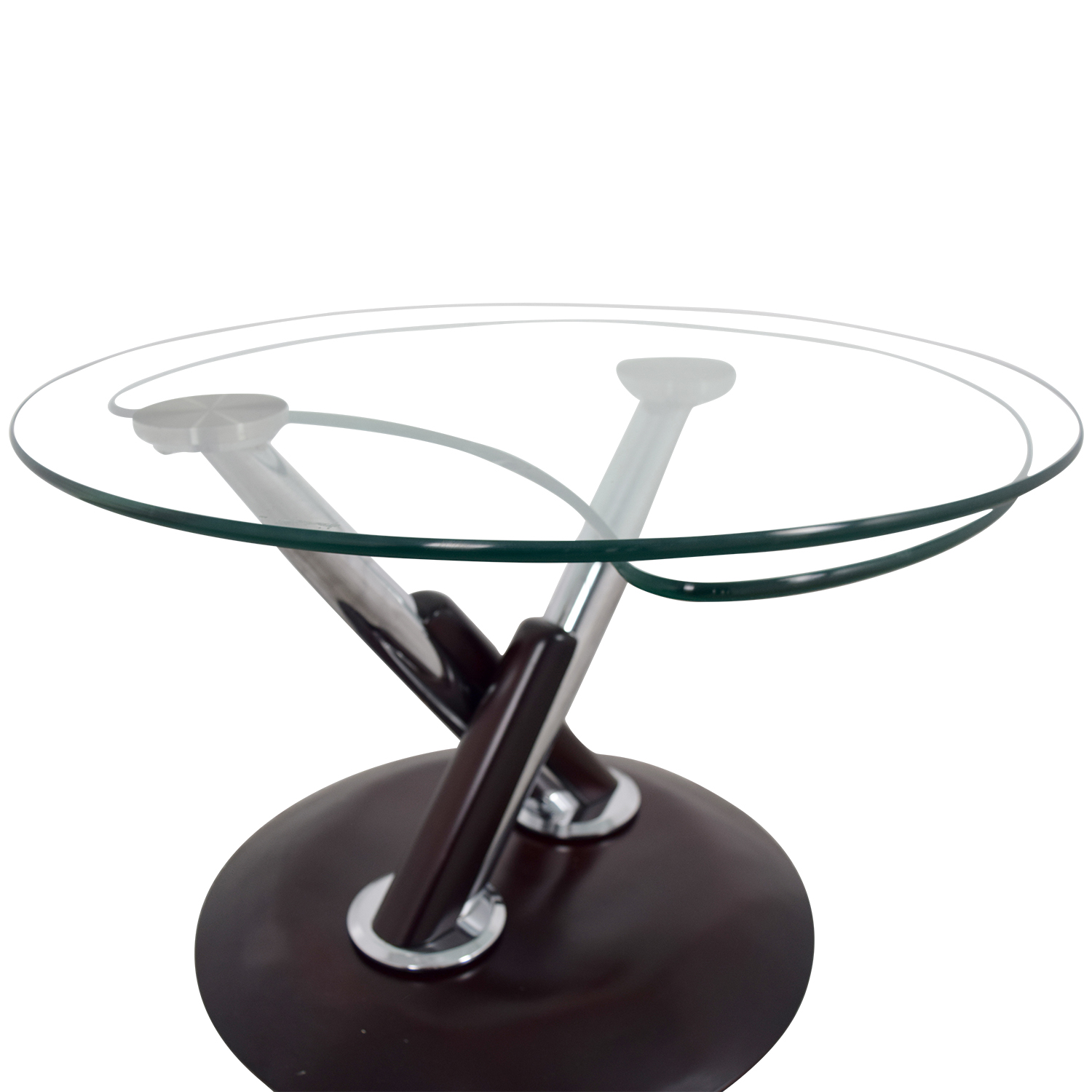 Rotating Glass Table Tables