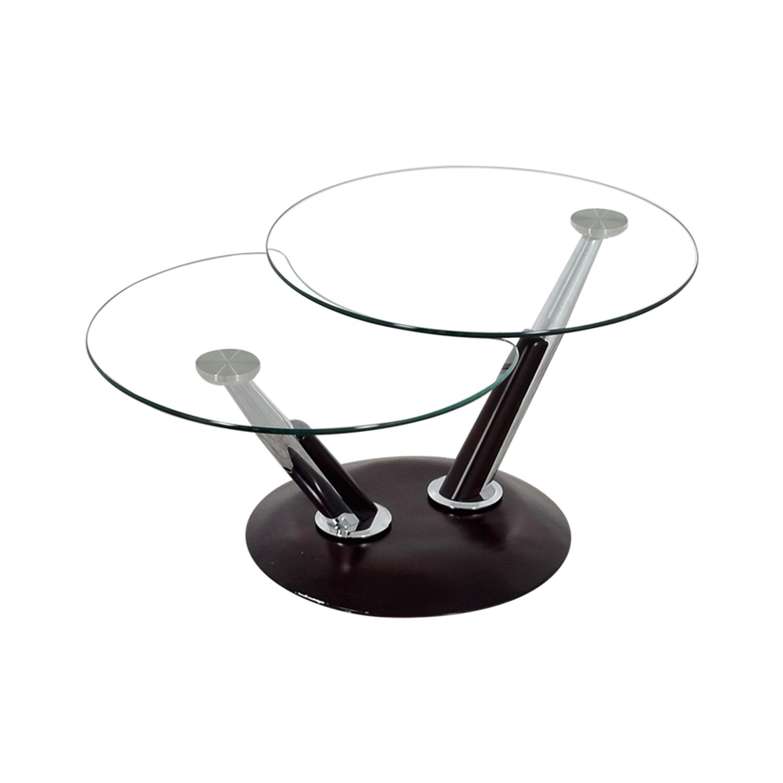 shop Rotating Glass Table
