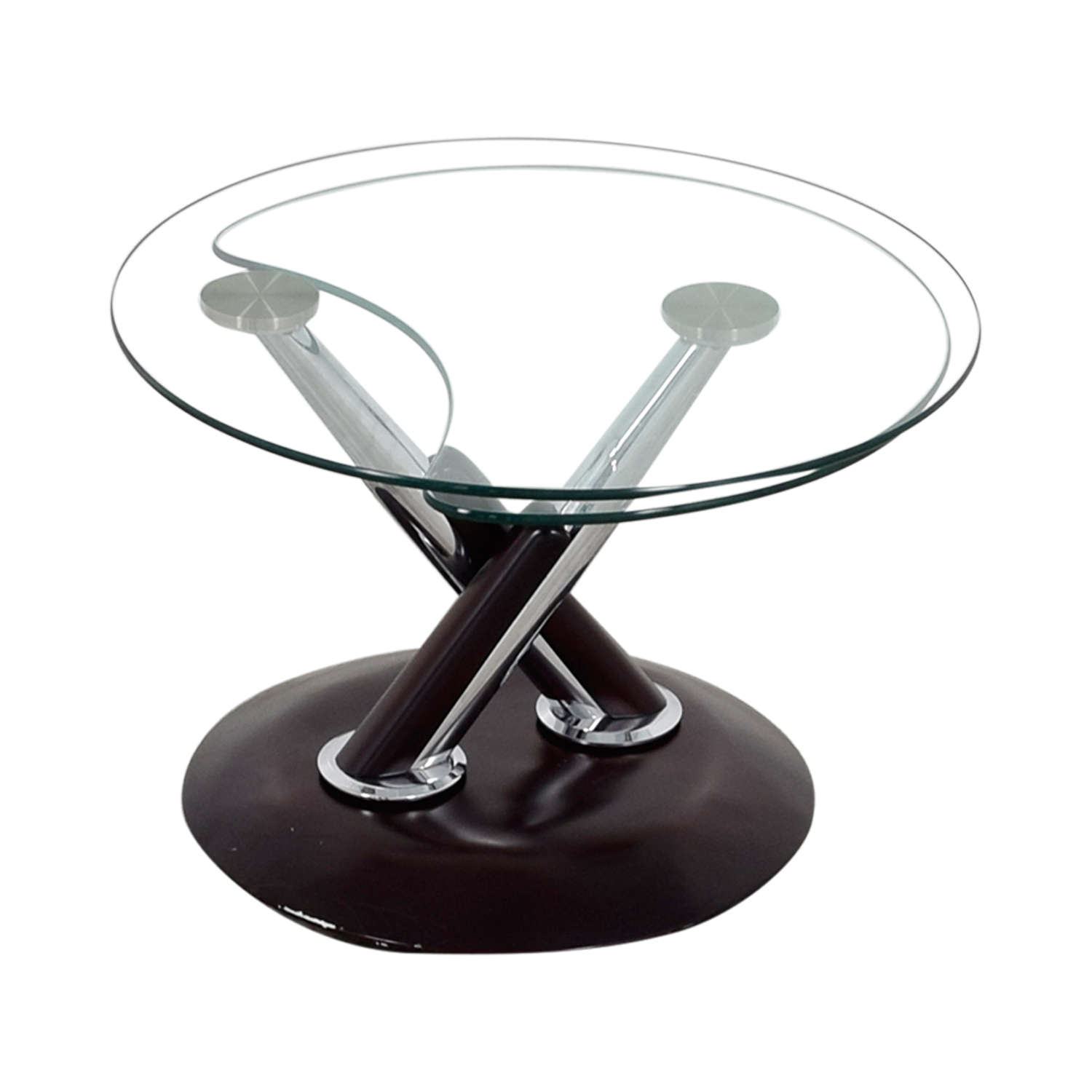 Rotating Glass Table