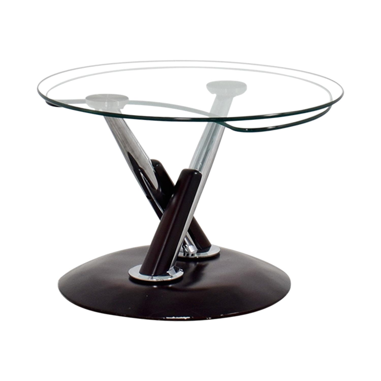 Rotating Glass Table nj