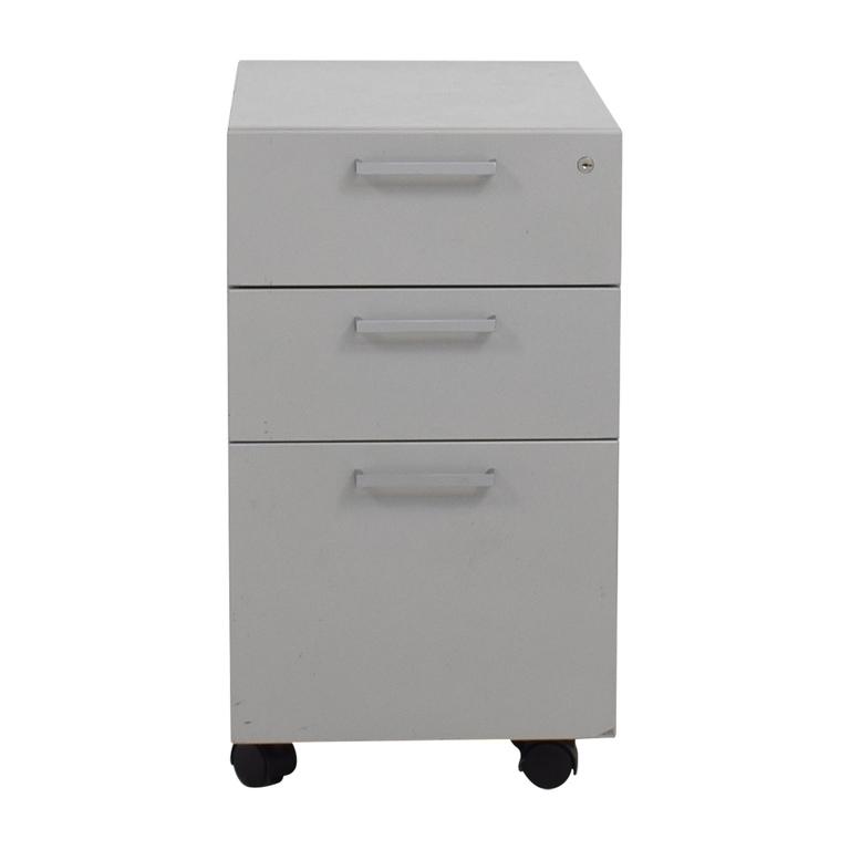 shop Allsteel Mobile Cabinet Allsteel