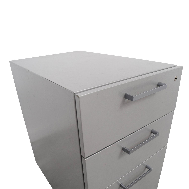Allsteel Allsteel Mobile Cabinet dimensions