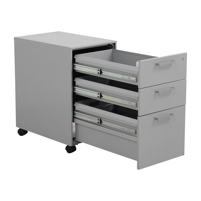 Allsteel Allsteel Mobile Cabinet Storage