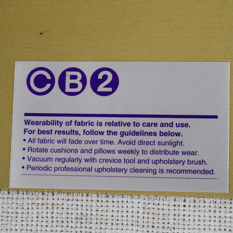 CB2 Piazza Apartment Sofa sale