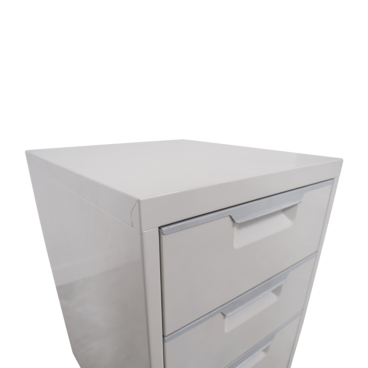 CB2 CB2 TPS White 3-Drawer Filing Cabinet discount