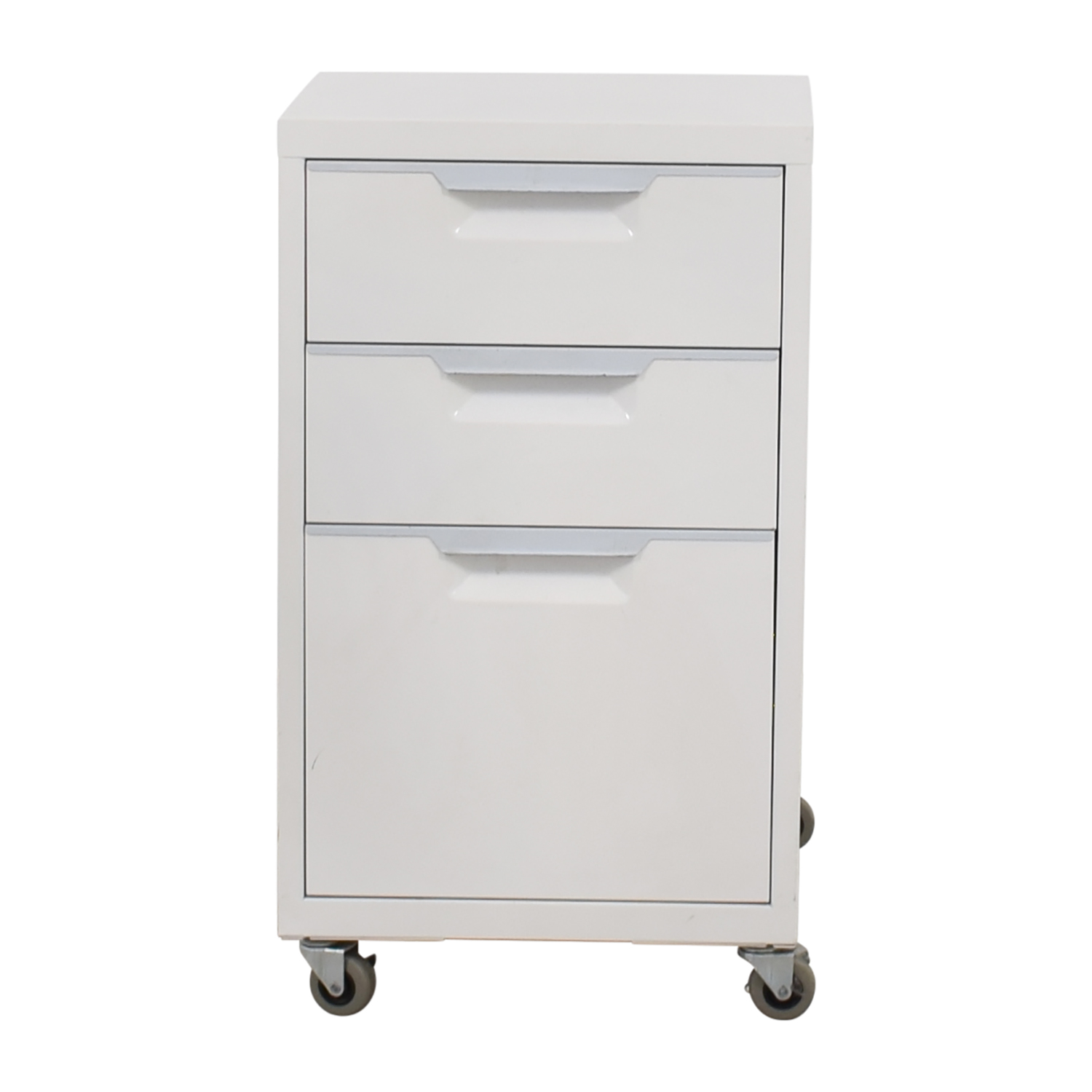 CB2 CB2 TPS White 3-Drawer Filing Cabinet White