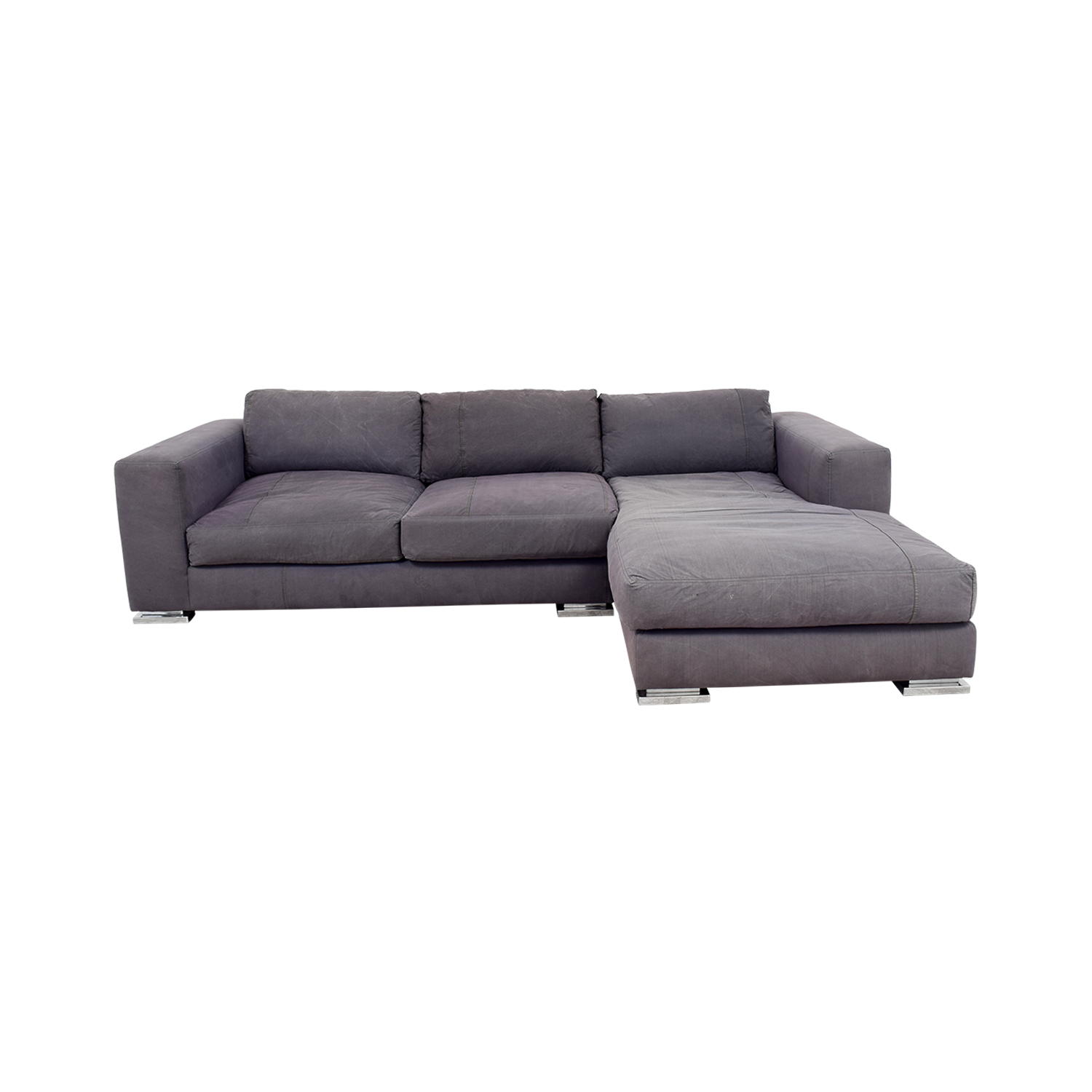 buy Environment Furniture Safia Sectional Grey Sofa Environment Furniture Sectionals
