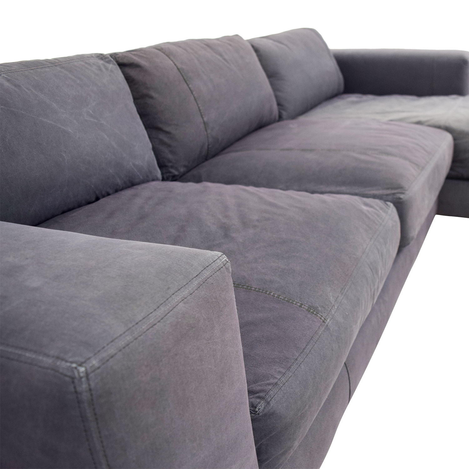 sectional grey sofa grey sectional sofas for less thesofa. Black Bedroom Furniture Sets. Home Design Ideas
