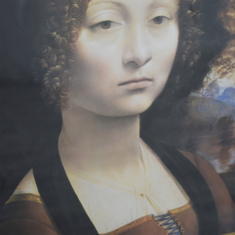National Gallery of Art National Gallery of Art Leonardo da Vinci Poster second hand