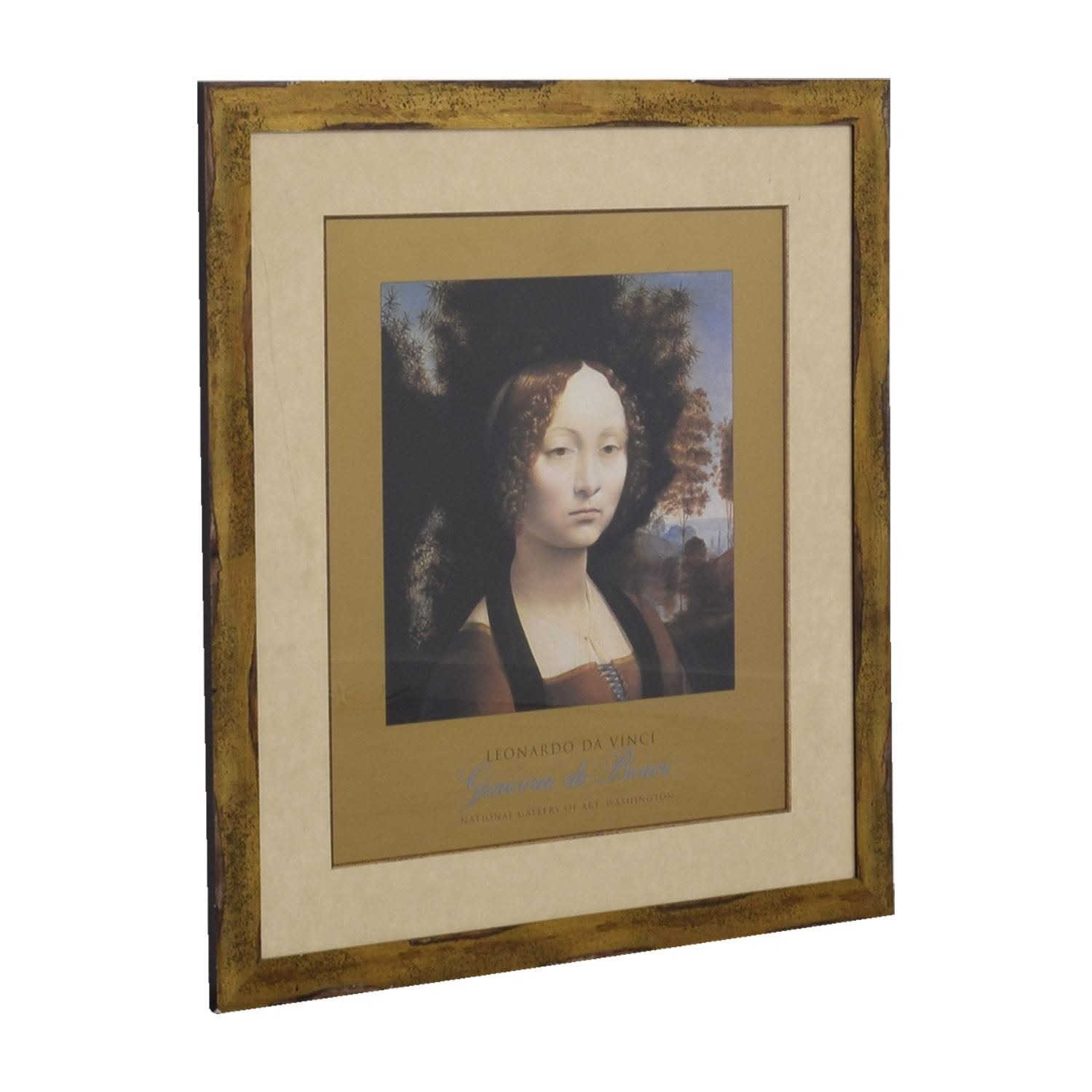 shop National Gallery of Art Leonardo da Vinci Poster National Gallery of Art