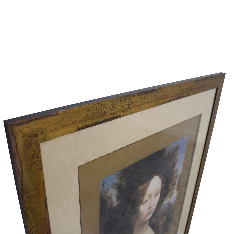 National Gallery of Art Leonardo da Vinci Poster / Decor