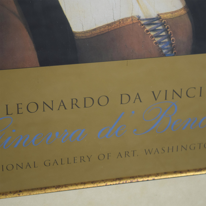 National Gallery of Art National Gallery of Art Leonardo da Vinci Poster used