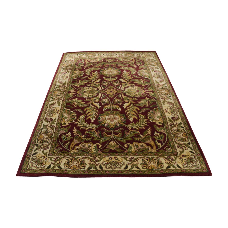 buy Surya Carpets Kaleen Wool Red Carpet Surya Carpets Decor