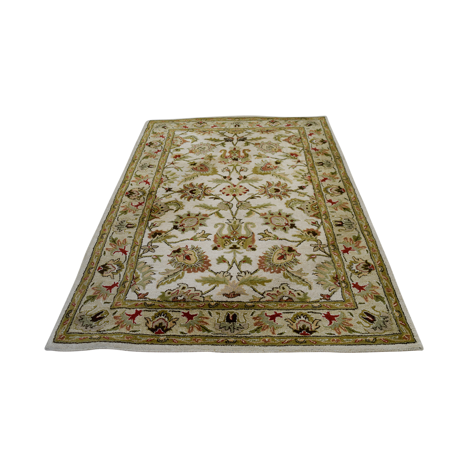 Surya Carpets Surya Carpets Kaleen Ivory and Beige Wool Carpet Decor