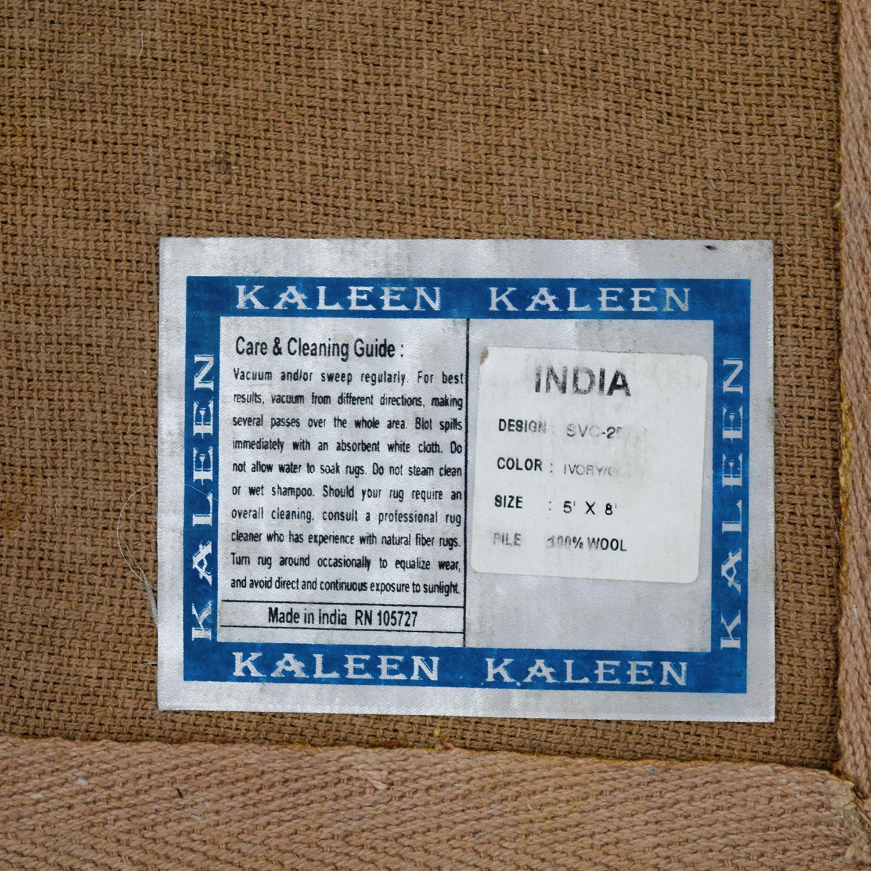 Surya Carpets Kaleen Ivory and Beige Wool Carpet Surya Carpets