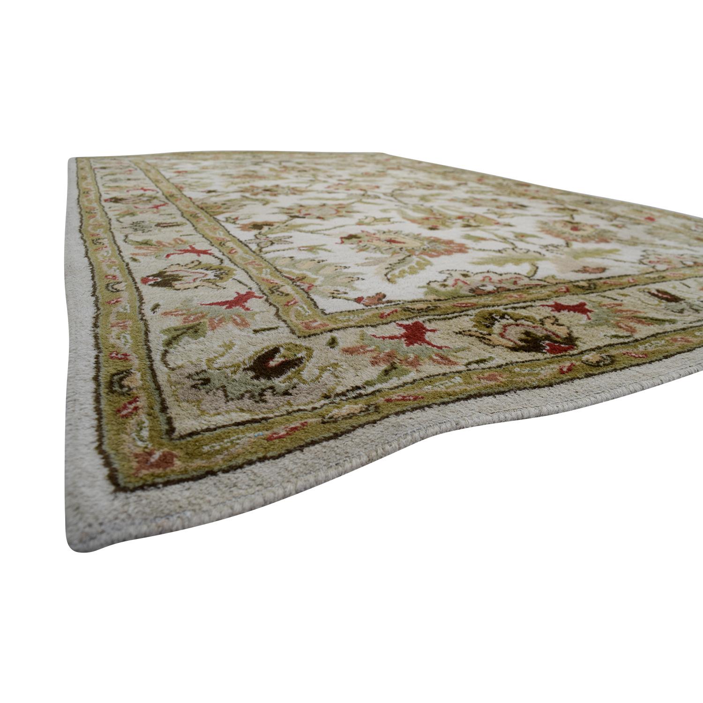 Surya Carpets Surya Carpets Kaleen Ivory and Beige Wool Carpet used