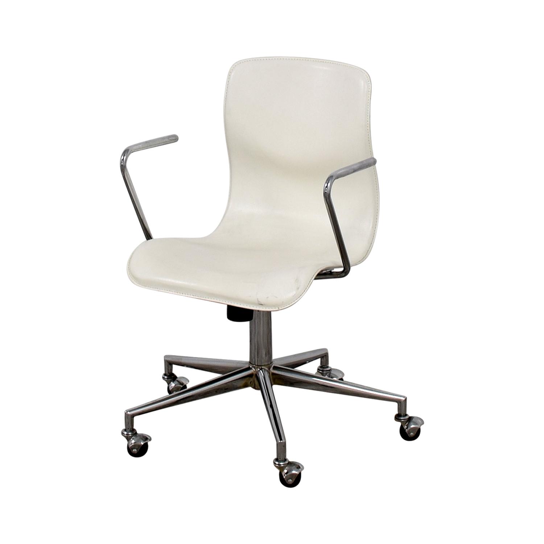 White Office Chair White
