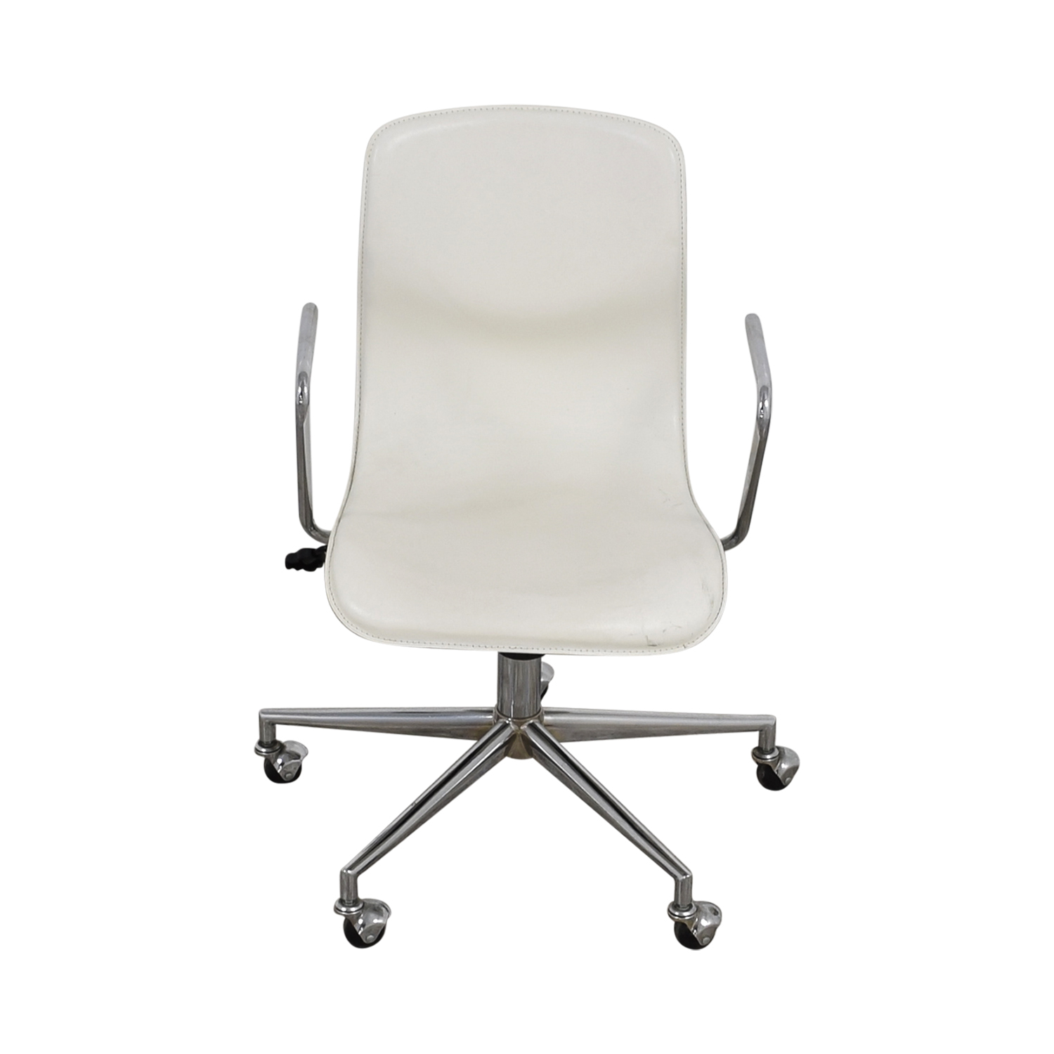 White Office Chair / Chairs