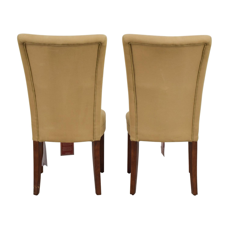 shop Coaster High Back Tan Chairs Coaster Chairs
