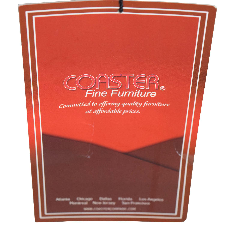 Coaster High Back Tan Chairs sale