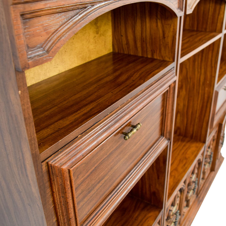 Vintage Three Piece Bookshelves Bookcases & Shelving