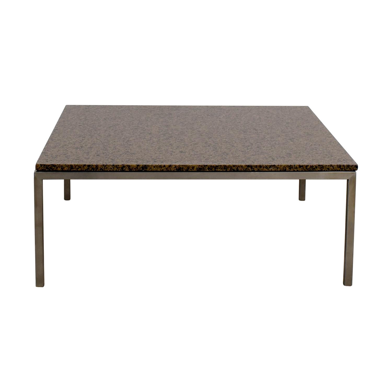 Room & Board Square Coffee Table sale