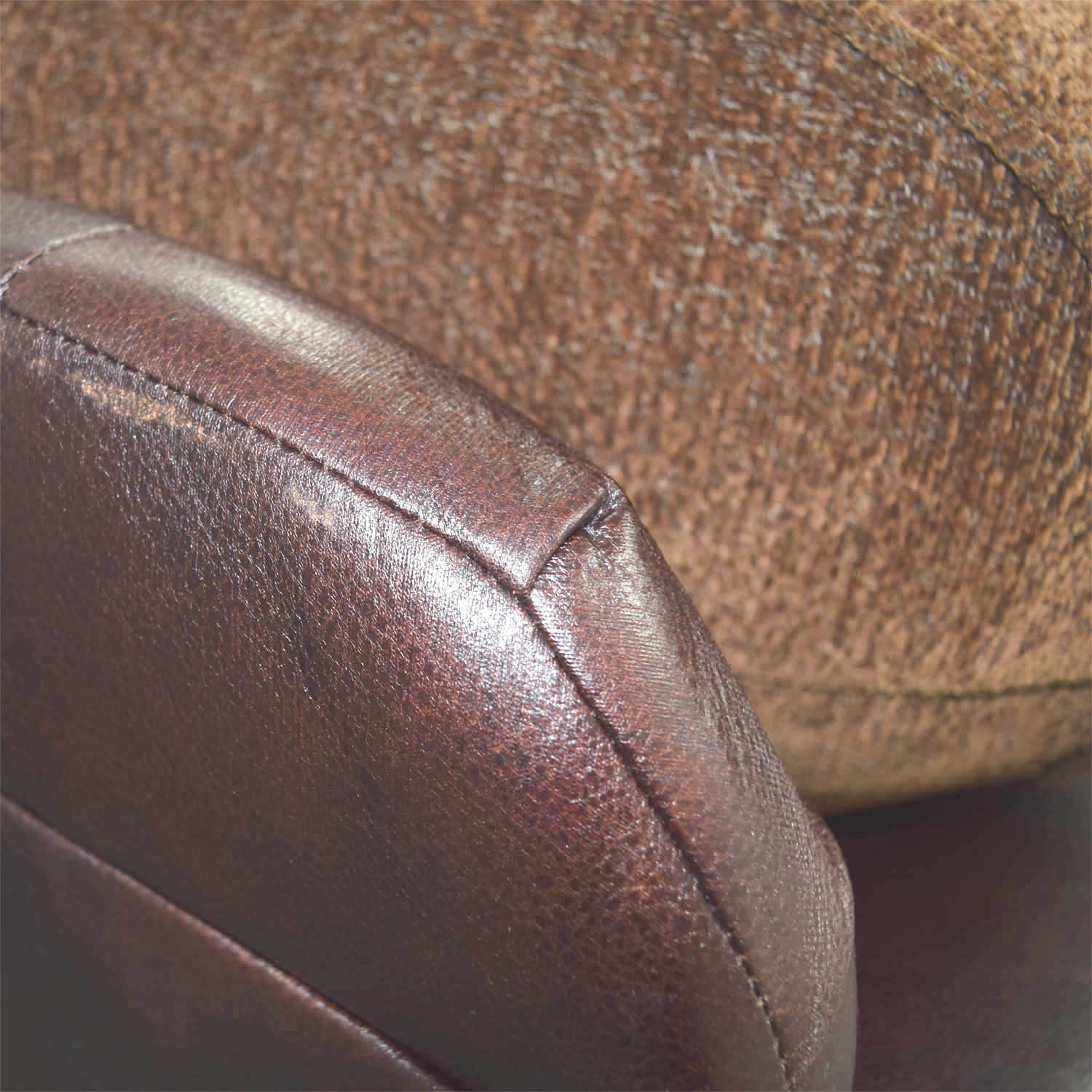 buy Simmons Sofa with Leather Arms Simmons Classic Sofas