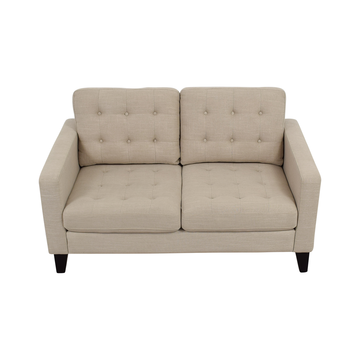 buy Pier 1 Imports Pier 1 Imports Nyle Putty Tufted Loveseat online