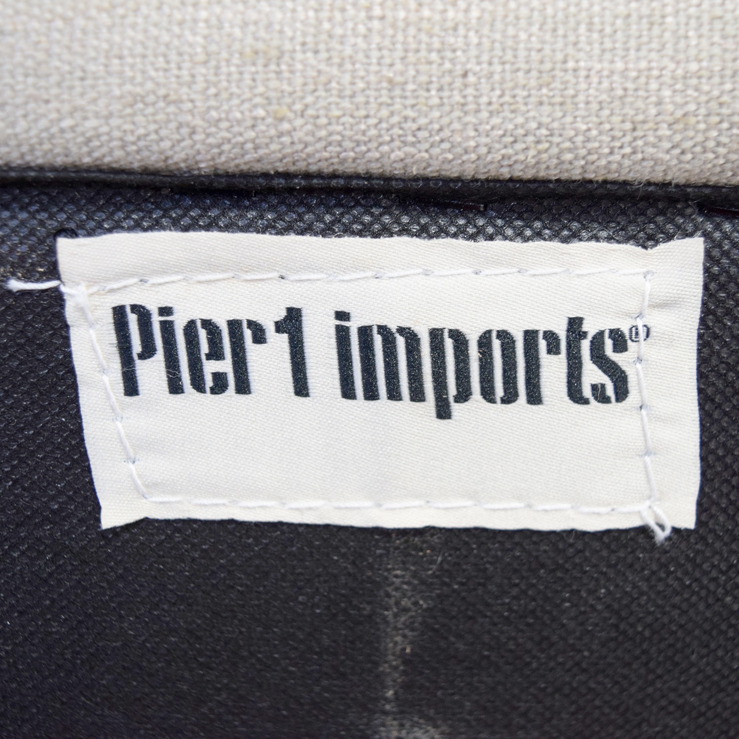 Pier 1 Imports Nyle Putty Tufted Loveseat / Sofas